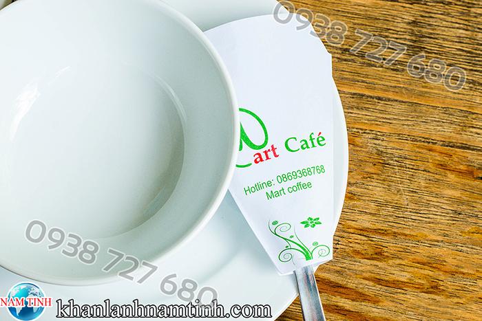 bao muỗng quán cafe